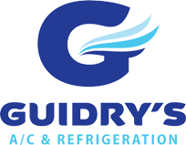 Guidry's Air Conditioning & Refrigetation Logo